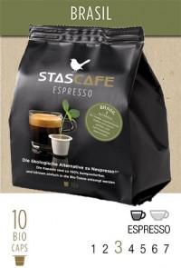 Brasil stascafe - 10 capsules for Nespresso®